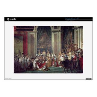 La consagración del emperador Napoleon Portátil Skins