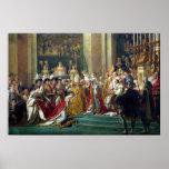La consagración y Josephine de Napoleon Impresiones