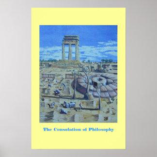 La consolación de la filosofía póster