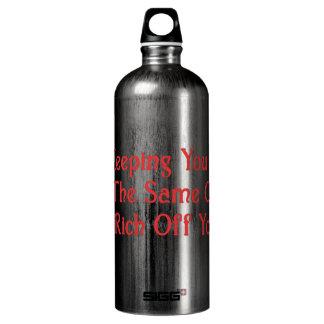 La conspiración real botella de agua