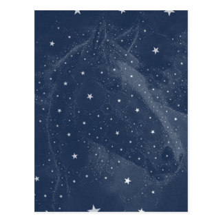 La constelación chispeante del caballo protagoniza postales