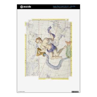 La constelación de acuario, platea 9 del 'atlas Co Pegatina Skin Para iPad 3
