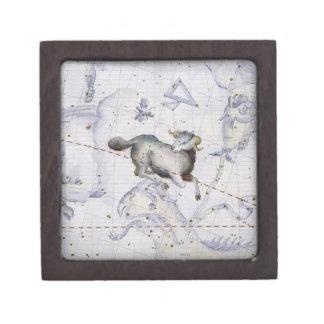 La constelación de aries, platea 4 del 'atlas Coel Caja De Regalo De Calidad