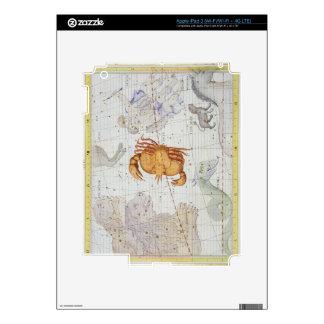 La constelación de cáncer, platea 4 del 'atlas Coe iPad 3 Skins