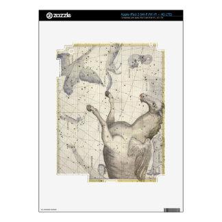 La constelación de Pegaso, platea 25 del 'atlas Co Pegatina Skin Para iPad 3