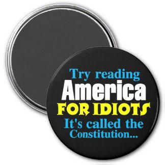 La constitución: América para los idiotas Imán Redondo 7 Cm
