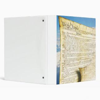 """La constitución de Estados Unidos sobre la tierra Carpeta 1"""""""