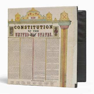 La constitución de los Estados Unidos de América
