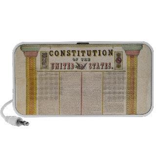 La constitución de los Estados Unidos de América Sistema De Altavoz