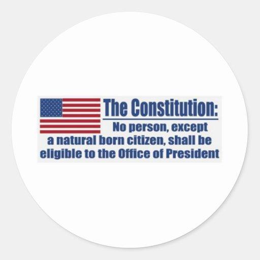 La constitución dice…. etiqueta