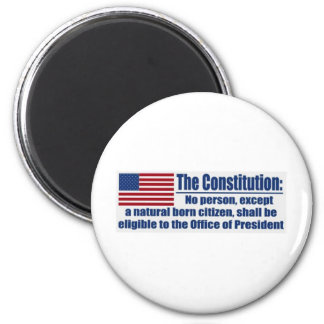 La constitución dice…. imán redondo 5 cm