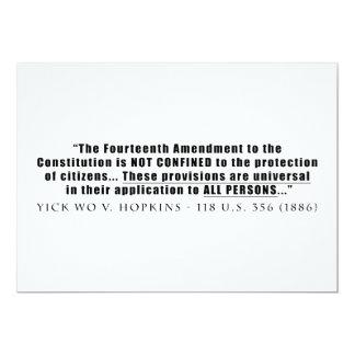 La constitución se aplica a TODAS LAS PERSONAS Comunicados