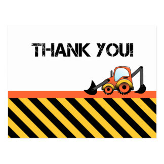 La construcción le agradece las tarjetas postal