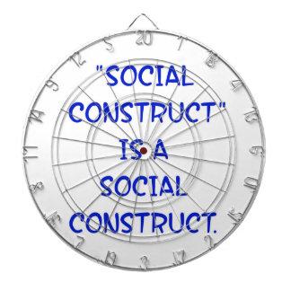 La construcción social es una construcción socia tablero dardos