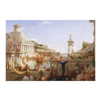 La consumación del imperio por el col de Thomas Lienzo Envuelto Para Galerías