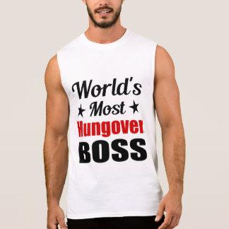 La consumición divertida más hungover de Boss del Camisetas Sin Mangas