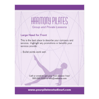 La convergente alinea Pilates púrpura Tarjetas Publicitarias