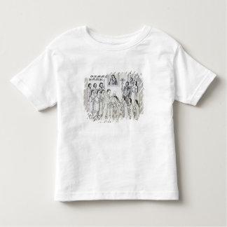 La conversión de los Aztecas a romano T-shirts