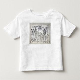 La conversión de los Aztecas a romano Tshirt