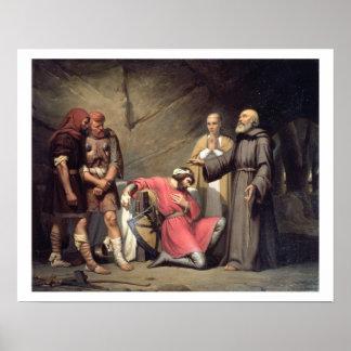 La conversión de Roberto, duque de Normandía, cono Poster
