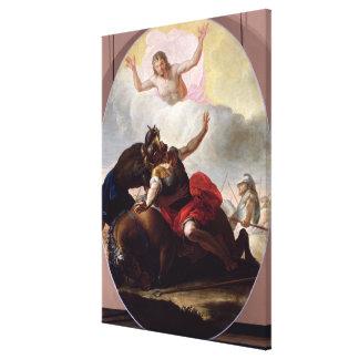 La conversión de San Pablo Impresión En Lona
