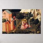 La conversión de St Augustine Póster