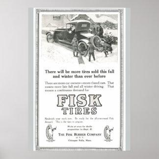 La copia 1917 de la imagen de la antigüedad del póster