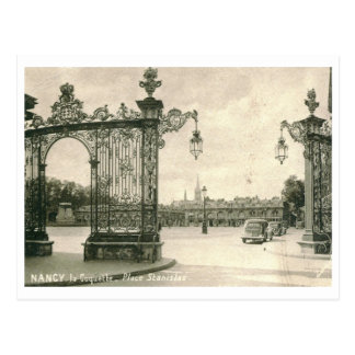 la Coquette, Place Stanislas, Nancy, France Vintag Postcard