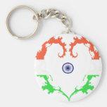 la corazón-India Llavero