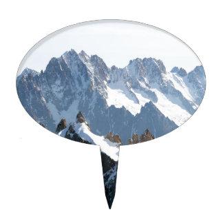 ¡La cordillera de las montañas - atontando! Figuras Para Tartas