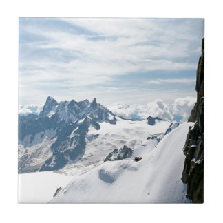 ¡La cordillera de las montañas - atontando! Azulejo Cerámica
