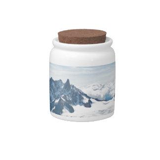 ¡La cordillera de las montañas - atontando! Jarras Para Caramelos