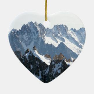 ¡La cordillera de las montañas - atontando Ornato