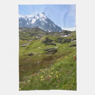 ¡La cordillera de las montañas - atontando! Toallas De Mano