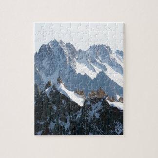¡La cordillera de las montañas - atontando! Puzzles Con Fotos
