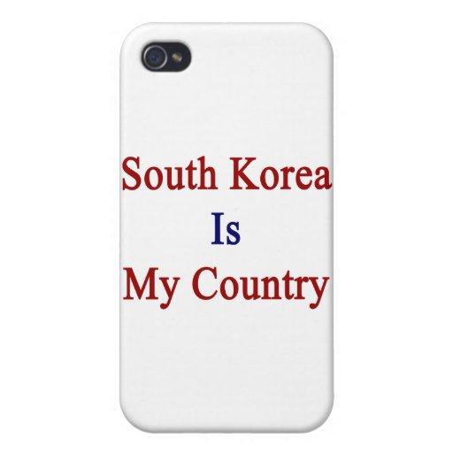 La Corea del Sur es mi país iPhone 4 Coberturas