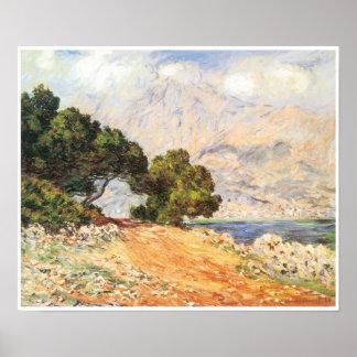 La Corniche de Mónaco, 1884 Impresiones