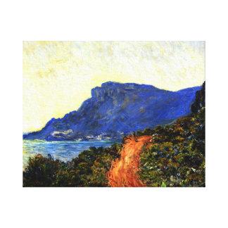 La Corniche near Monaco, Claude Monet 1884 Canvas Print