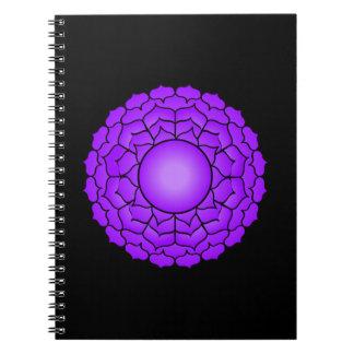 La corona Chakra Libro De Apuntes Con Espiral