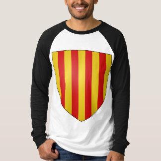 La Corona de Aragón de Escudo de Armas de Remeras