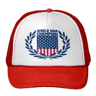 La corona del ganador - gorra del campeón de la gu