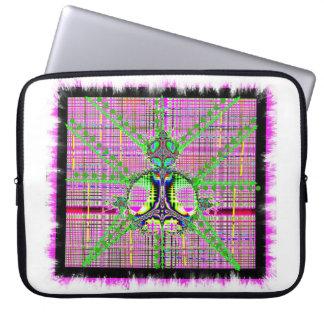 La corona escocesa mangas computadora