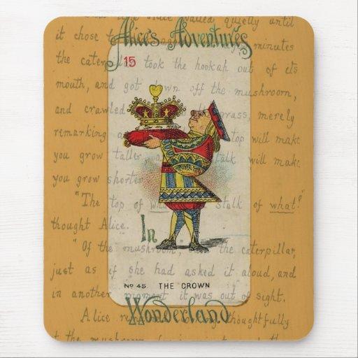 La corona Mousepad Alfombrilla De Raton