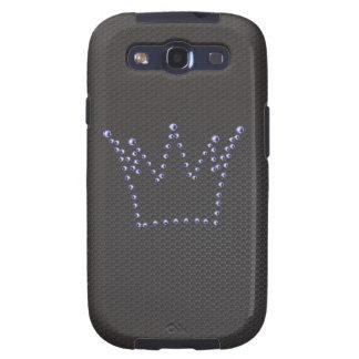 La corona Samsung del diamante encajona Samsung Galaxy S3 Carcasa