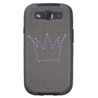 La corona Samsung del diamante encajona Samsung Galaxy S3 Cárcasa