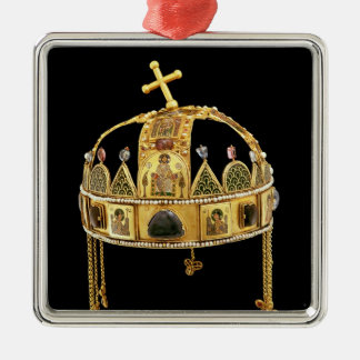 La corona santa de Hungría, 11mo-12mo siglo Adorno