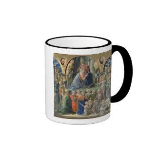 La coronación de la Virgen, 1441-7 (tempera en p Taza