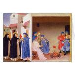 La coronación de la Virgen Tarjeta