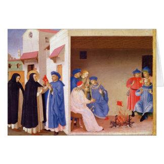 La coronación de la Virgen Tarjeta De Felicitación