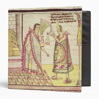 """La coronación de Montezuma II Carpeta 1 1/2"""""""